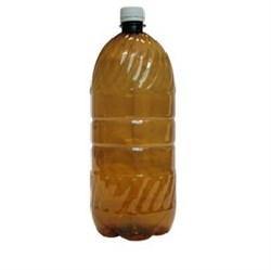 Бутылка ПЭТ, темная с пробкой 2 л