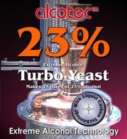 Спиртовые дрожжи Alcotec 23%, 300 гр
