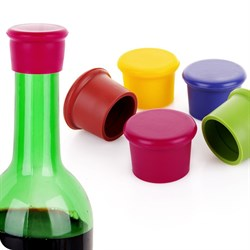 Глубокая силиконовая крышка для бутылки