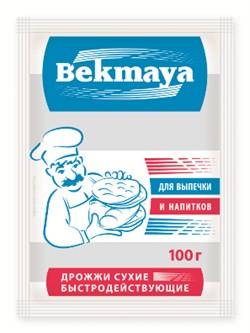 Сухие спиртовые хлебопекарные дрожжи BEKMAYA (Бекмая) 100 гр - фото 4789