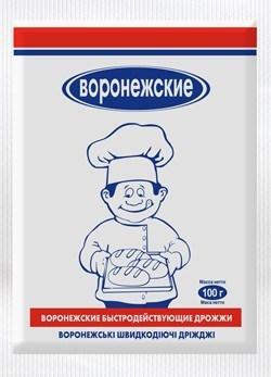Дрожжи сухие быстродействующие «Воронежские» 100 г - фото 4853