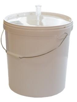 Бак 20 литров с малым гидрозатвором (стаканом)