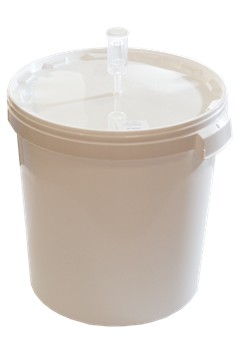 Бак 33 литра с большим гидрозатвором