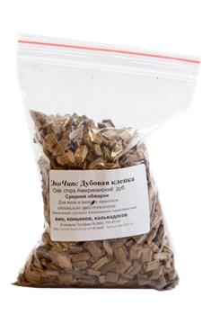 Дубовые чипсы американского дуба среднего обжига 100 гр