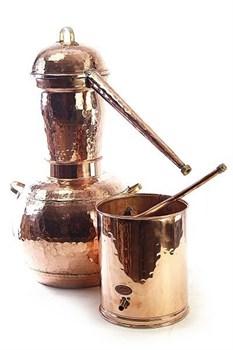 Арабский аламбик на 15 л со сваркой стыков и встроенным термометром