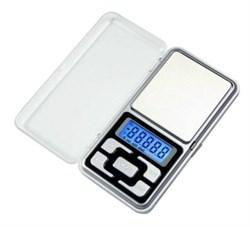 Портативные карманные электронные весы 0,01-200 г (Pocket Scale MH-200) - фото 5170