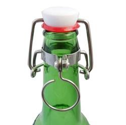 Бугельная пробка для пивной бутылки с держателем - фото 5180