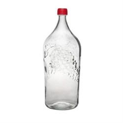 Бутылка стеклянная «Винная Виноград»