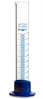 Цилиндр мерный с носиком на пластиковом основании 100 мл