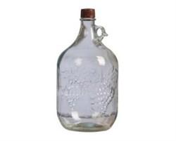 Бутыль стеклянная Лоза 5 л