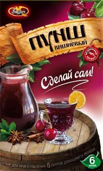 Набор для приготовления напитка Пунш вишневый («Бодрич»), 306 г