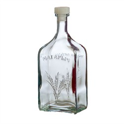 Бутылка стеклянная «Магарыч» 1,2 л