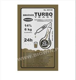 Спиртовые турбо дрожжи Turbo  24h, 205 г