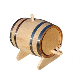 Бочка (колотый дуб) 30 литров