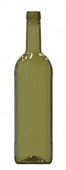 Бутылка винная оливковая 750 мл