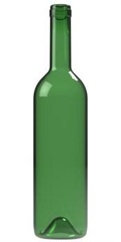 Бутылка винная Бордо зеленая 700 мл