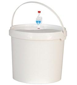 Пластиковый бак на 20 литров с гидрозатвором