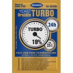 Спиртовые турбо дрожжи Browin Turbo Grom 24h, 180 г