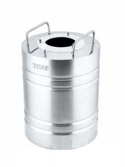 Перегонный куб «Добровар Эконом», 7,7 л (крышка 3 шпильки Ø 21 мм)