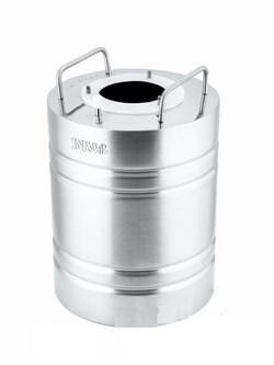 Перегонный куб «Добровар Эконом», 7,7 л (крышка 3 шпильки Ø 42 мм)