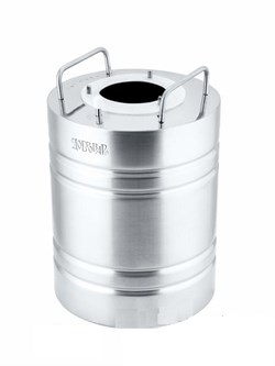 Перегонный куб «Добровар Эконом», 10 л (крышка 3 шпильки Ø 21 мм)