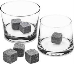 Камни для виски темно - серого цвета, 9 штук