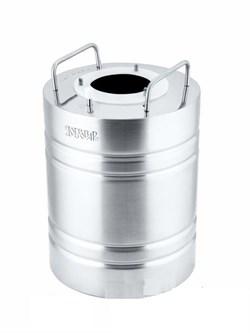 Перегонный куб «Добровар Эконом», 14 л (крышка 3 шпильки Ø 21 мм)