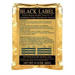 Спиртовые дрожжи Black Label Turbo, 90 г