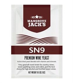 ВИННЫЕ ДРОЖЖИ MANGROVE JACK — SN9 (VINTNER'S HATVEST), 8 Г