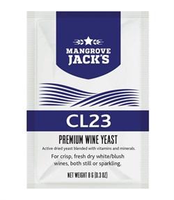 Винные дрожжи Mangrove Jack — CL23 (Vintner's Hatvest), 8 г