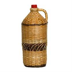 Бутылка для вина «Симон» в оплетке (декор), 7 л