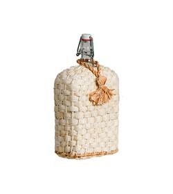 """Бутылка стеклянная """"Викинг"""" в оплетке (декор), 1,75 л"""