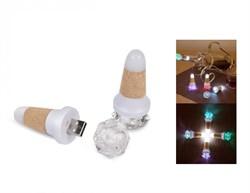 Пробка-светильник USB для бутылки