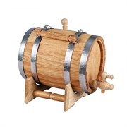 Анкерок дубовый для вина и коньяка 15 л