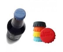 Цветная силиконовая крышка для бутылки