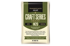 Сухие пивные дрожжи Mangrove Jacks - Bavarian Wheat Yeast M20,10 гр.