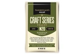 Сухие пивные дрожжи Mangrove Jacks - Bavarian Wheat Yeast M20,10 гр.