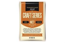 Сухие пивные дрожжи Mangrove Jacks - Belgian Ale Yeast M27,10 гр.