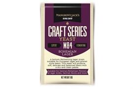 Сухие пивные дрожжи Mangrove Jacks - Bohemian Lager Yeast M84,  10 гр.