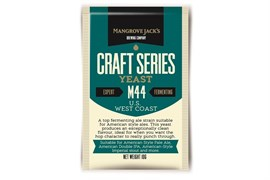 Сухие пивные дрожжи Mangrove Jacks - US West Coast Yeast M44, 10 гр.