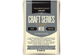 Сухие пивные дрожжи Mangrove Jacks - Workhorse Beer Yeast M10,  10 гр.