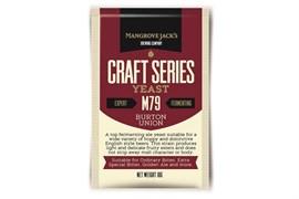 Сухие пивные дрожжи Mangrove Jacks - Burton Union Yeast M79, 10 гр.