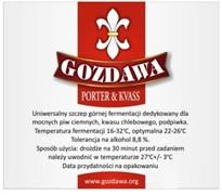 Сухие пивные дрожжи Gozdawa Porter & Kvass, 10 г