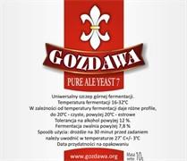 Сухие пивные дрожжи Gozdawa Pure Ale 7, 10 г