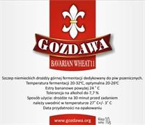 Сухие пивные дрожжи Gozdawa Bavarian Wheat 11, 10 г