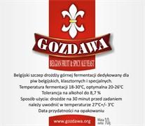 Сухие пивные дрожжи Gozdawa Belgian Fruit & Spicy Ale, 10 г
