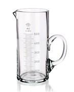 Мензурка (стакан мерный) стеклянная с ручкой Simax, 500 мл