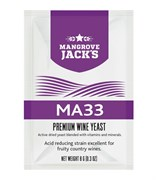 Винные дрожжи Mangrove Jack — MA33 (Vintner's Hatvest), 8 г