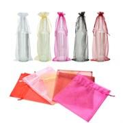 Подарочная сумка для бутылки из органзы