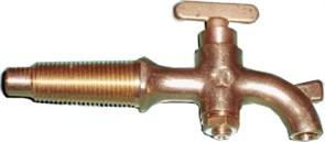 Латунный кран для бочки (13 см)